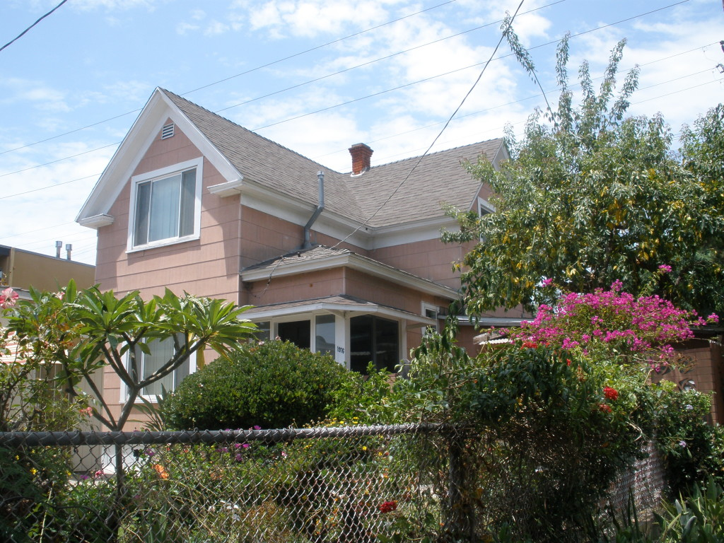 Snyder home, Hornblend and Morrell