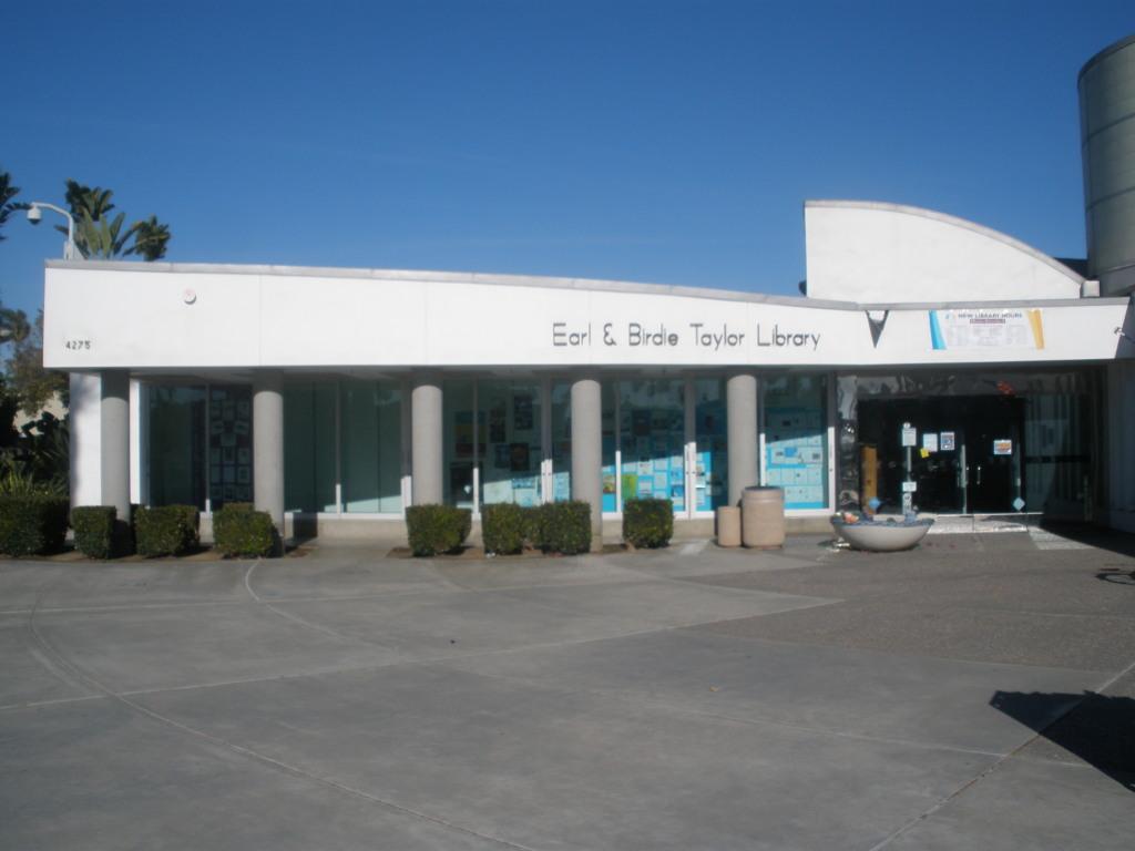 Earl & Birdie Taylor Library, 4275 Cass Street