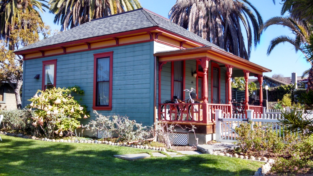 Dr. Martha Dunn Corey's cottage, now at The Heritage Place in La Jolla.