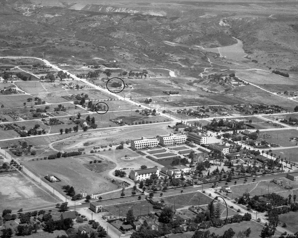 83:14603-1 Pacific Beach - Aerial - 1938
