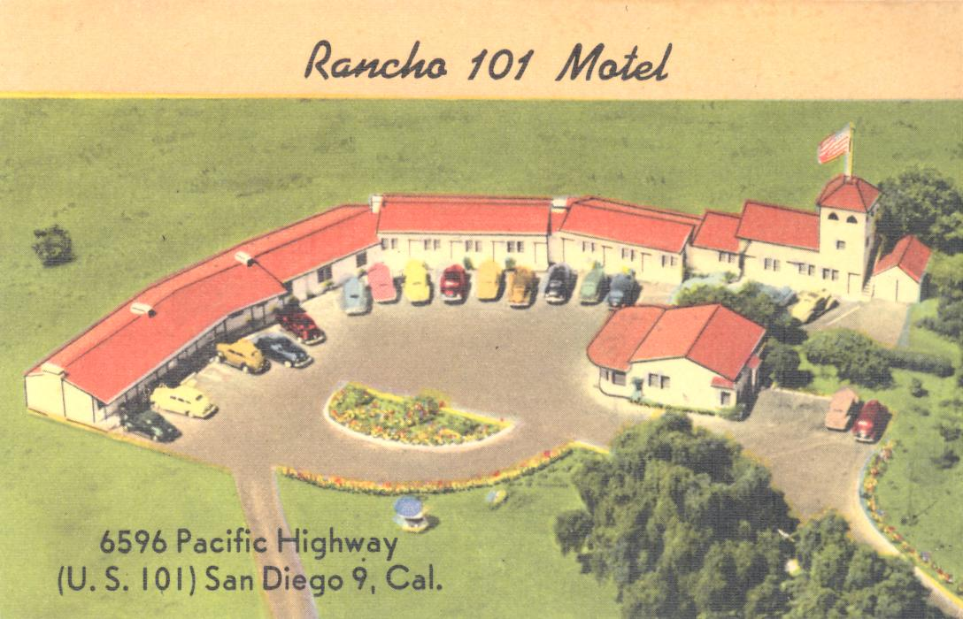 Motel  San Diego Pacific Highway