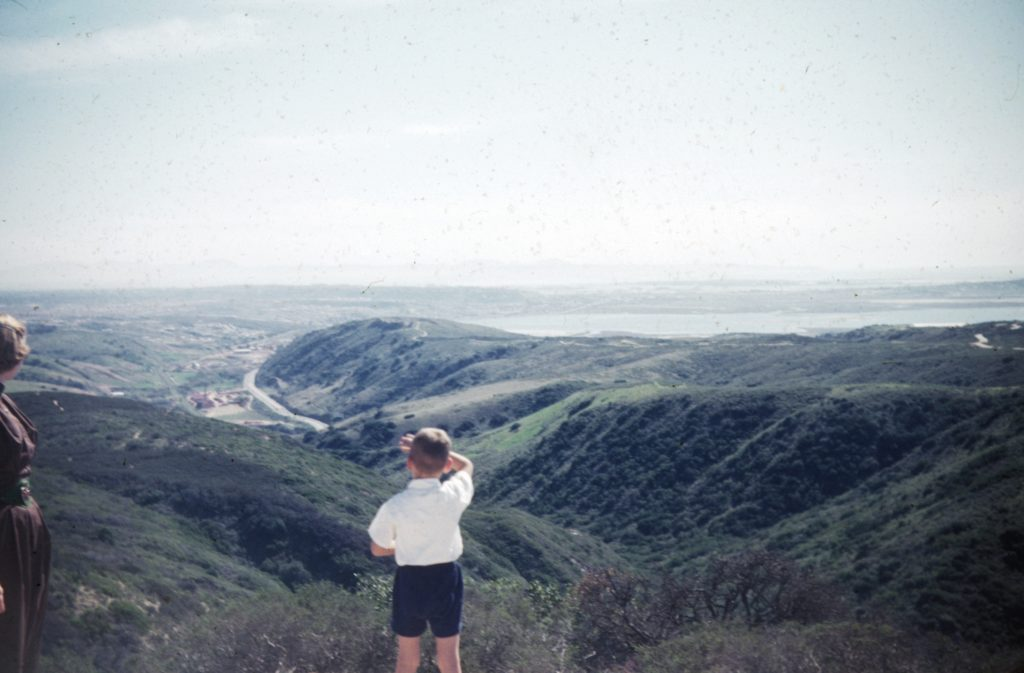 View from Mt. Soledad, 1953