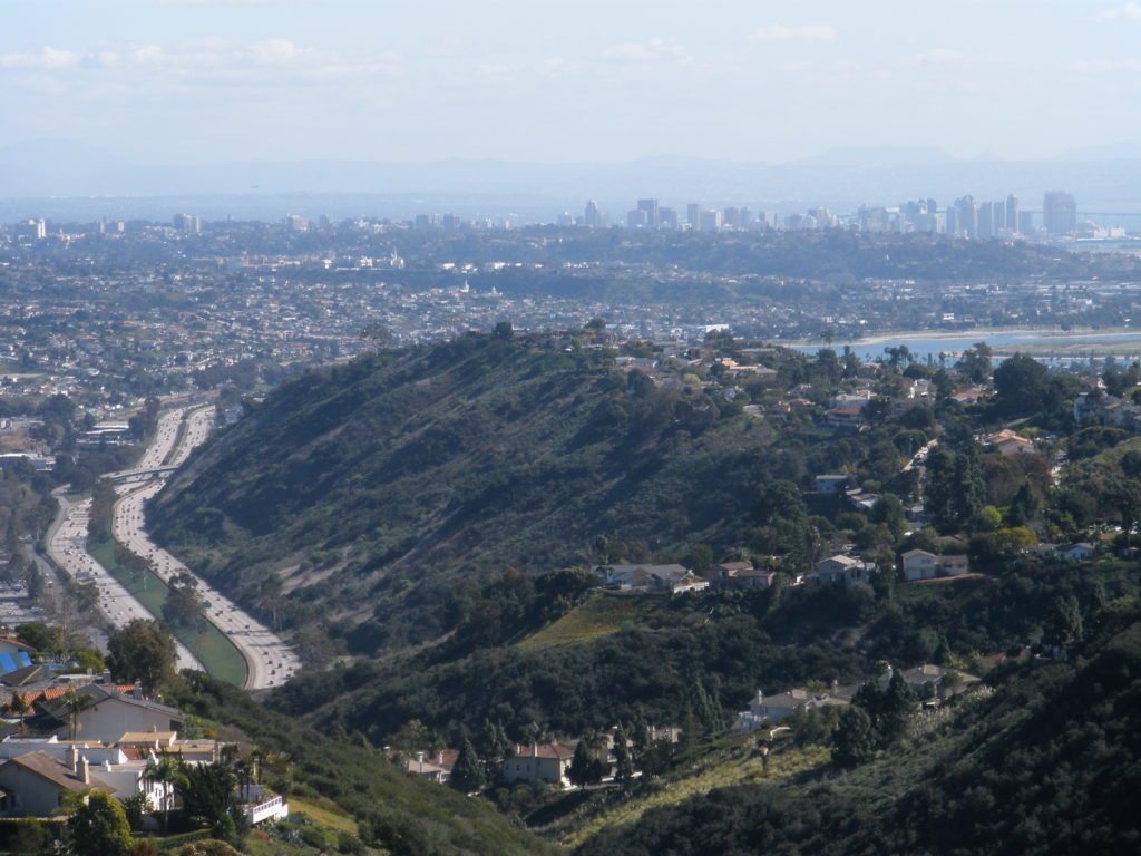 View from Mt. Soledad today
